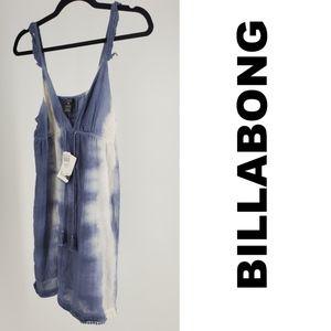 BILLABONG Mia Dress Tie-Dye Size 10 NWT